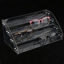 Acrylic Sunglasses Display Rack Makeup Cosmetics Storage Organizer Shelves