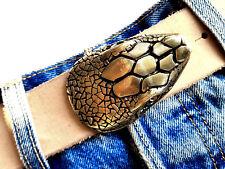 Buckle Serpent Snake strass or Boucle de ceinture changement Boucle 4 cm