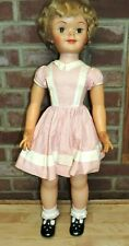 """Vintage 1950'S 31"""" Betsy Mccall ? Plastic Doll Cute Original Clothes? Blonde"""