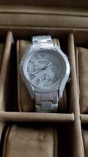 Emporio Armani Grey Cermaic Watch