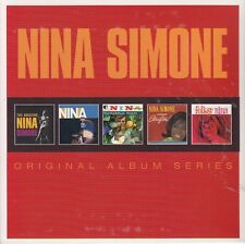 NINA SIMONE/the amazing..., At Town Hall, forbidden fruit, et al. (5 CD, neuf dans sa boîte)