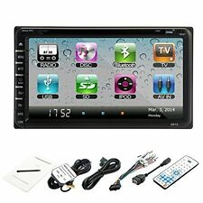"OUKU 7"" In Dash Double 2Din Car Stereo Radio DVD MP3 Player TFT Touch Screen RDS"
