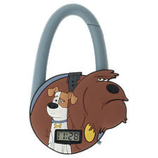 SECRET LIFE OF PETS DOG CARABINER WATCH DUKE AND MAX ALL AGE WATCH TIMEPIECE