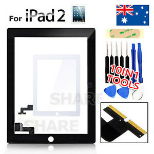 Touch Screen Digitizer Replacement For iPad 2 Black / White
