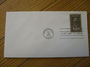 400th Year FDI Shakespeare Celebration Stamp Postmarked Stratford, CT USA -1964
