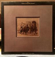 The Stills-Young Band Long May You Run LP Vinyl Record Album 1976 Clean Copy