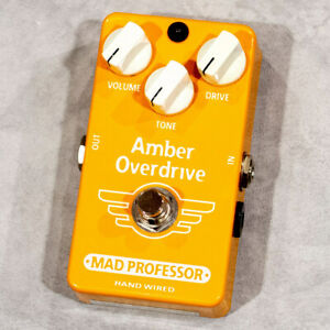 Mad Professor Amber Overdrive Hand Wired Used Goods