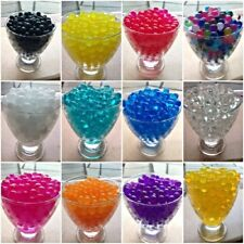 WATER AQUA SOIL CRYSTAL BIO GEL BALL BEADS WEDDING VASE FILLER CENTERPIECE UK