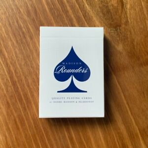New/Sealed Madison Blue Rounders Playing Cards Ellusionist Cardistry Magic Deck