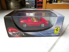 Ferrari 360 Spider Hotwheels Mattel 1/43 Miniature avec boite
