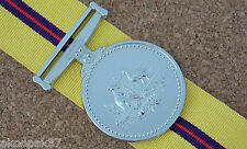 IRAQ MEDAL WITH 15CM  RIBBON EXCELLENT REPRODUCTION OF THE ORIGINAL