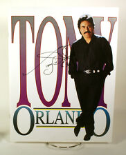 Tony Orlando Signed Program 1996 w/coa