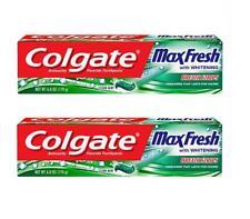 Colgate MaxFresh Whitening  Breath Strips - Clean Mint 6 oz March 2021 (2 packs)