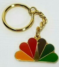 NBC Promotional Peacock Keychain Collectible