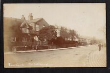 Altrincham - Manchester Road - real photographic postcard