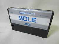 MSX MOLE Cartridge only Import Japan Video Game msx