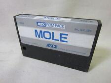 MSX MOLE Cartridge only Import Japan Video Game msx