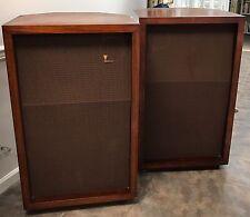 """Pair Rare JBL Signature C34/Model 34 Harkness N-1200 Huge 40"""" Speakers Original"""
