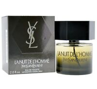 Yves Saint Laurent La Nuit De L'Homme Eau De Toilette 2 oz / 60 ml Spray