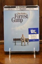 Forrest Gump [SteelBook] [4K Ultra Hd + Blu-Ray] [1994] *Brand New Sealed*