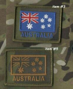 Australien Armée Ensigne Spéciale Air Service Regiment Special Velkrö Flag X 2