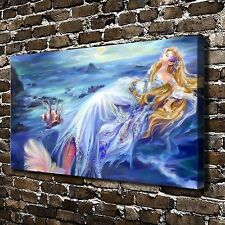 The little mermaid Paintings HD Print on Canvas Home Decor Wall Art Pictures