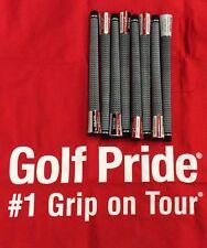 8 Brand New Golf Pride Tour Velvet 360 White Standard Size