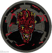 Darth Maul Zombie Patch 7.5cm Dia - Sew On/ Iron On