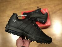 NIKE AIR MAX 95 BLACK MENS TRAINERS SHOES SIZE UK11 EUR46 US12 CU1923 001 NEW