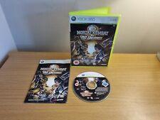 XBOX 360-Mortal Kombat vs DC Universe-Complet avec Manuel Sans p&p