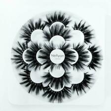 Neflyon Calidad Premium Pestañas 25mm 3 estilos diferentes 100% hecho a mano de largo y tan