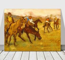 "EDGAR DEGAS - Before The Horse Race - CANVAS ART PRINT POSTER - 10x8"""