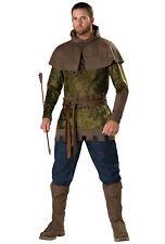 Robin Hood of Nottingham Medieval Warrior Hero Archer Thieves Men Costume