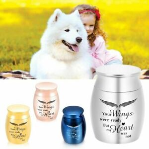 Angel Wings Keepsake Urns For Human And Pets Ashes Memorial Cremation Aluminum