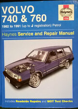 VOLVO 740 & 760 1982 ~ 1991 PETROL HAYNES SERVICE & REPAIR MANUAL