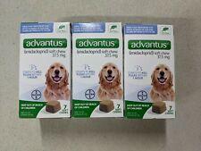 Advantus Flea Killer, 37.5mg Large Dog 23-110 lbs 7 soft chews ea Total 21 chews