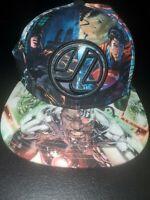 Justice League Batman Superman, Green Arrow, Flash, Aquaman, Cyborg Snapback Cap