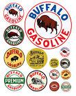 1:87 HO scale model Buffalo Oil gasoline station gas signs