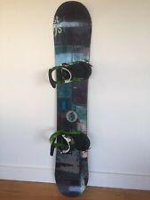 New listing Burton Process Off-Axis 157 Snowboard, Burton Mission Bindings, stomp pad & bag