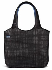 Built NY Neoprene Tote Bag Apple Macbook 15 - Graphite Grid A-TB15-GGD