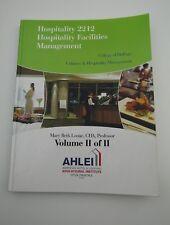 Hospitality 2212 College of DuPage Culinary Hospitality Vol 2/2 10725CTX01ENGE