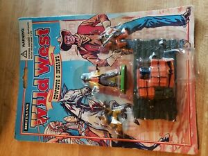 BRITAINS WILD WEST Cowboys & Indians figures sealed card