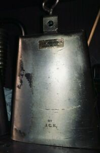 JCR Cowbell: The Legendary TIMBALE BELL - Collector's cowbell.