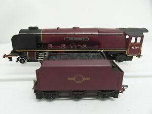 WRENN RAILWAYS DUCHESS CLASS 4-6-2 KING GEORGE VI 46244 BR MAROON