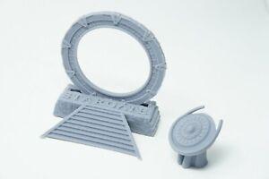 Stargate Ring Stairs Platform SG1 Model Prop Geek Gift Atlantis Resin Miniature