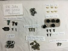 00 01 02 03 04 VW Jetta Lot of Interior Fasteners for Door, Trunk & Other