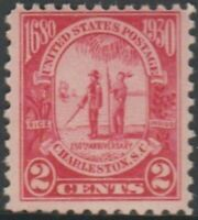 Scott# 683 - 1930 Commemoratives - 2 cents Carolina-Charleston Issue