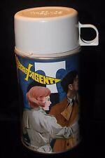 Vintage Secret Agent Metal Thermos 1968 EXCELLENT