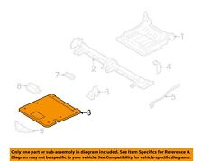 FORD OEM 05-07 Freestyle Rear Seat-Cover Panel Right 5F9Z7460512AAB