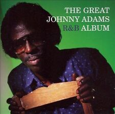 JOHNNY ADAMS -The Great Johnny Adams R&B Album  2006 Rounder Records Seal New CD
